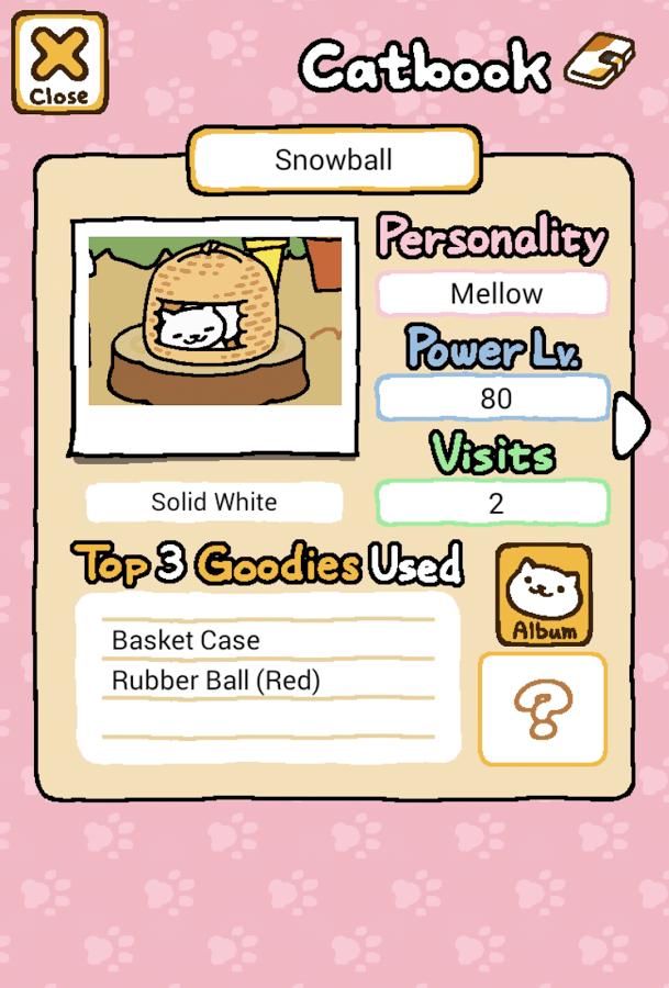 Neko Atsume Kitty Collector catbook