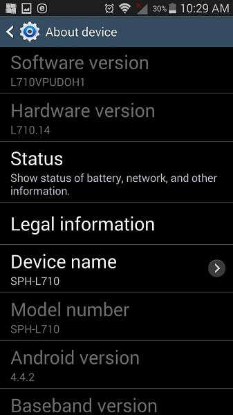 root lg g4 - about phone